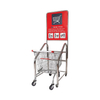 Standard Dimensions Shopping Trolley with Coin Lock