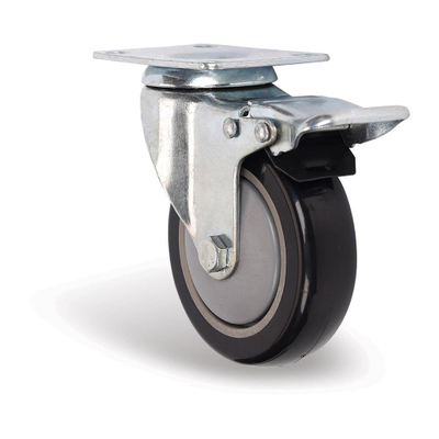 Elevator Wholesale PU Wheel Caster For Shopping Trolley