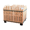 Supermarket Store Display Metal Wooden Fruit And Vegetable Stand