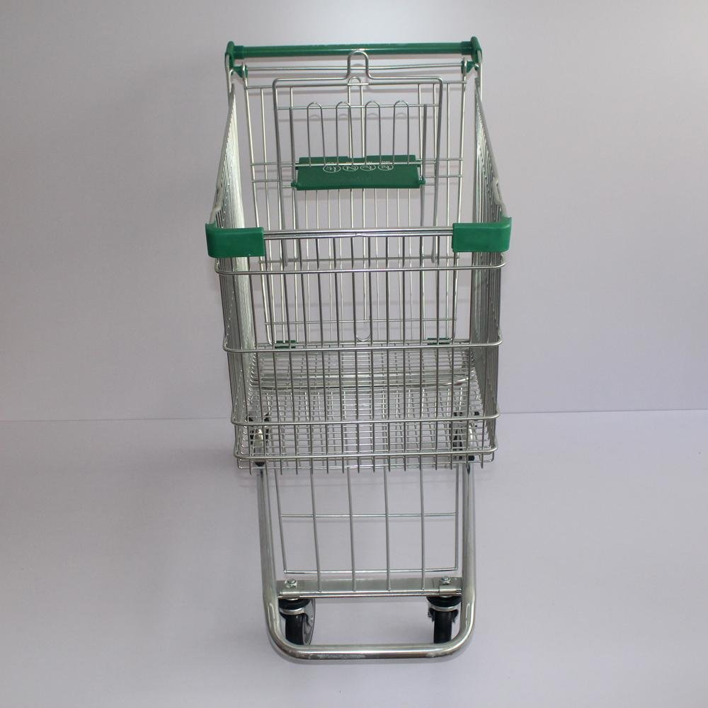 150L American Grocery Storage Supermarket Shopping Cart