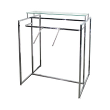 X-type Stainless Steel Collapsible Shop Cloth Drying Rack