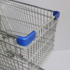 180L German Fashion Gray Scale Supermarket Shopping Cart