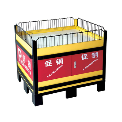 Effective Promotion Plastic Table with Aluminum Connection