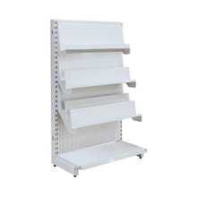 Single Side Supermarket Commercia Display Rack System
