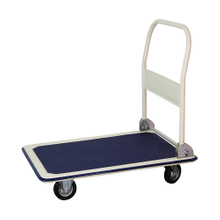 Platform trolley cart factory 120kgs flat cart for warehouse