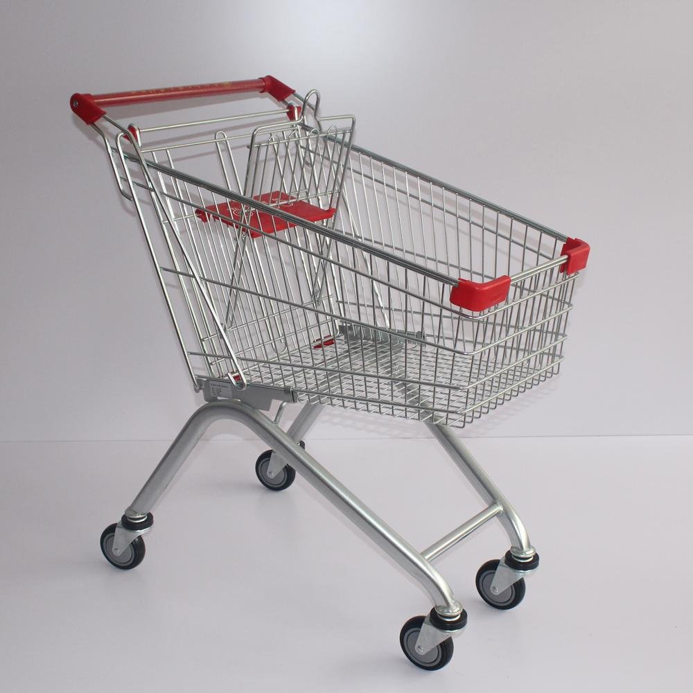 60L Cheap European Hot Sale Shopping Carts for Carring