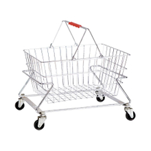 New Portable Large Capacity Supermarket Shopping Basket Holder