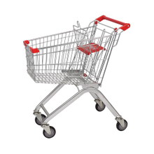 80L Supermarket And Grocery New Type Foldable Shopping Trolley