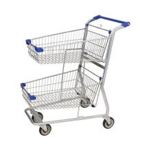 Galvanize Public Service Shopping Trolley with Printing Logo