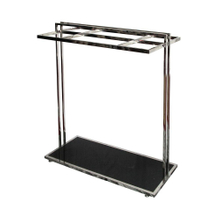 Portable Single Side Stand Cloth Display Rack for Cloth Store