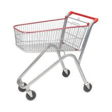 Classical Style Promotional Shopping Trolley with Chair