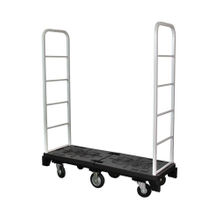 Warehouse Supermarket Folding Rolling Steel Step Platform Ladder