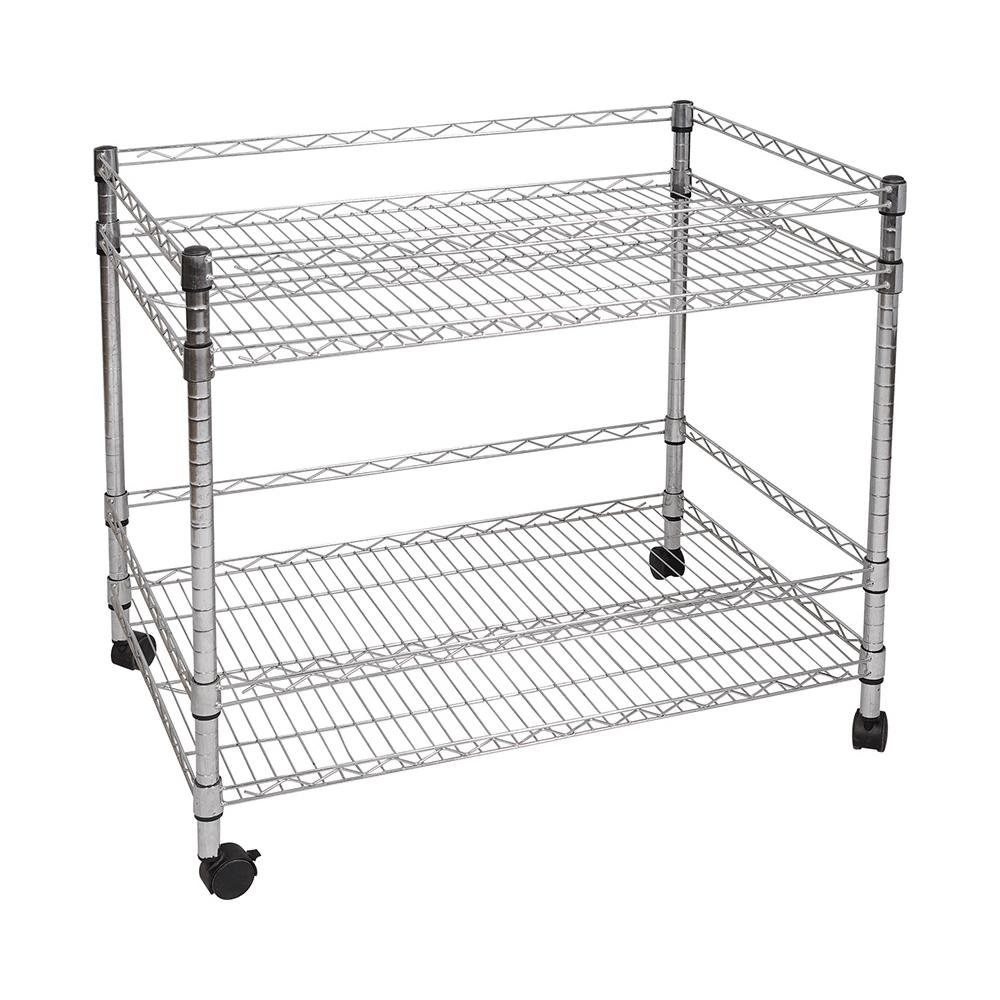 NSF & ISO Approved Metal Wire Grocery Dispaly Racks